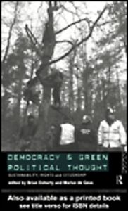 Ebook in inglese Democracy and Green Political Thought