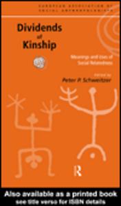 Ebook in inglese Dividends of Kinship
