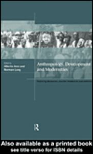 Ebook in inglese Anthropology, Development and Modernities