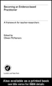 Ebook in inglese Becoming an Evidence-based Practitioner
