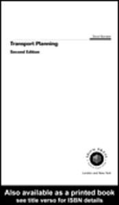 Ebook in inglese Transport Planning Banister, David