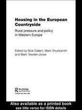Housing in the European Countryside