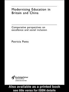 Ebook in inglese Modernising Education in Britain and China Potts, Patricia