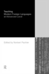 Ebook in inglese Teaching Modern Foreign Languages at Advanced Level -, -