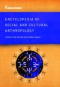 Foto Cover di Encyclopedia of Social and Cultural Anthropology, Ebook inglese di  edito da Taylor and Francis