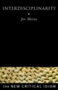 Ebook in inglese Interdisciplinarity Moran, Joe