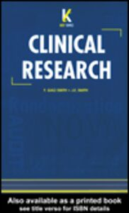 Ebook in inglese Key Topics in Clinical Research Gao Smith, F. , Smith, J.E.