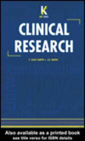 Key Topics in Clinical Research