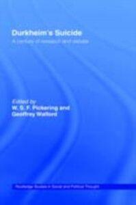 Foto Cover di Durkheim's Suicide, Ebook inglese di  edito da Taylor and Francis