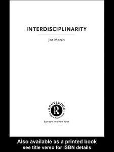 Ebook in inglese Interdisciplinarity Moran, Joe