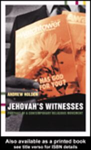 Ebook in inglese Jehovah's Witnesses Holden, Andrew