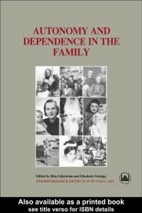 Ebook in inglese Autonomy and Dependence in the Family -, -