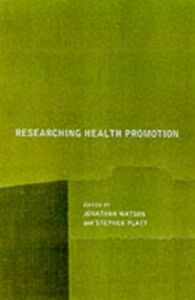 Ebook in inglese Researching Health Promotion