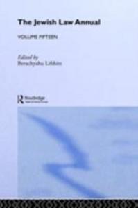 Ebook in inglese Jewish Law Annual Volume 15 -, -