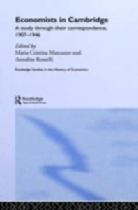 Ebook in inglese Economists in Cambridge Marcuzzo, Maria Cristina , Rosselli, Annalisa