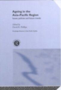 Foto Cover di Ageing in the Asia-Pacific Region, Ebook inglese di  edito da Taylor and Francis