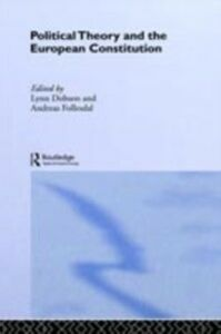 Ebook in inglese Political Theory and the European Constitution -, -
