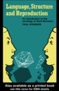Ebook in inglese Language, Structure and Reproduction Atkinson, Paul