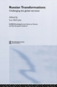 Foto Cover di Russian Transformations, Ebook inglese di  edito da Taylor and Francis