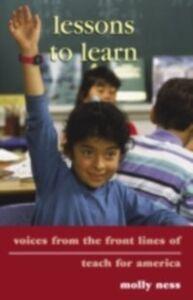 Foto Cover di Lessons to Learn, Ebook inglese di Molly Ness, edito da Taylor and Francis