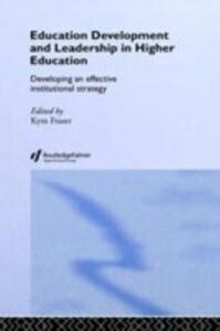 Ebook in inglese Education Development and Leadership in Higher Education