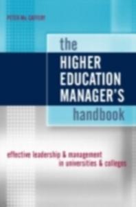 Ebook in inglese Higher Education Manager's Handbook McCaffery, Peter