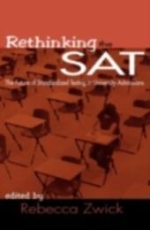 Rethinking the SAT