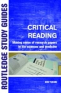 Ebook in inglese Critical Reading Yudkin, Ben