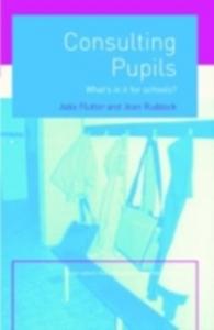 Ebook in inglese Consulting Pupils Flutter, Julia , Ruddock, Jean