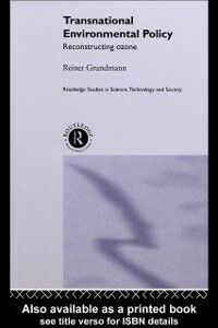 Ebook in inglese Transnational Environmental Policy Grundmann, Reiner