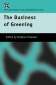 Ebook in inglese Business of Greening