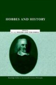 Foto Cover di Hobbes and History, Ebook inglese di  edito da Taylor and Francis