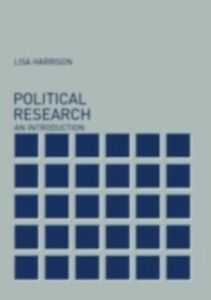 Ebook in inglese Political Research Harrison, Lisa