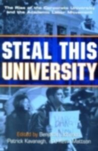 Ebook in inglese Steal This University