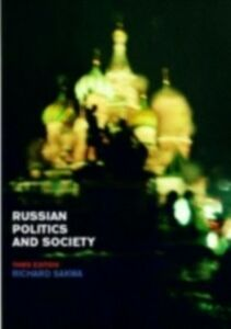 Ebook in inglese Russian Politics and Society Sakwa, Richard