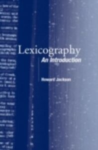 Ebook in inglese Lexicography Jackson, Howard