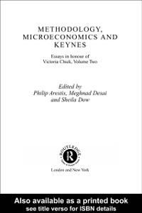 Ebook in inglese Methodology, Microeconomics and Keynes -, -