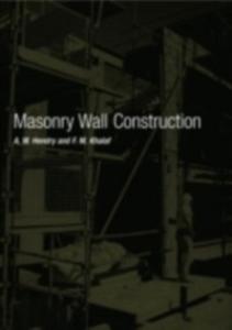 Ebook in inglese Masonry Wall Construction Hendry, A.W. , Khalaf, F. M.