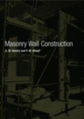 Masonry Wall Construction