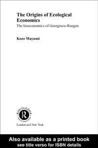Ebook in inglese Origins of Ecological Economics Mayumi, Kozo