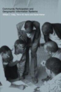 Foto Cover di Community Participation and Geographical Information Systems, Ebook inglese di  edito da CRC Press