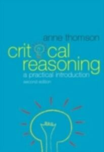 Ebook in inglese Critical Reasoning Thomson, Anne