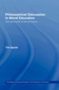 Ebook in inglese Philosophical Discussion in Moral Education Sprod, Tim