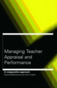 Ebook in inglese Managing Teacher Appraisal and Performance