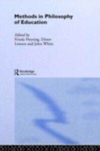 Foto Cover di Methods in Philosophy of Education, Ebook inglese di  edito da Taylor and Francis