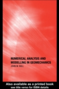 Ebook in inglese Numerical Analysis and Modelling in Geomechanics -, -