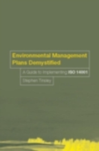 Ebook in inglese Environmental Management Plans Demystified Tinsley, Stephen