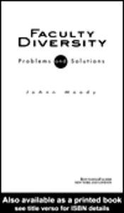 Ebook in inglese Faculty Diversity Moody, JoAnn