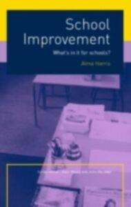 Foto Cover di School Improvement, Ebook inglese di Alma Harris, edito da Taylor and Francis