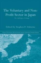 Voluntary and Non-Profit Sector in Japan